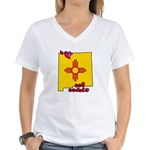 ILY New Mexico Women's V-Neck T-Shirt