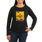 ILY New Mexico Women's Long Sleeve Dark T-Shirt