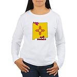 ILY New Mexico Women's Long Sleeve T-Shirt