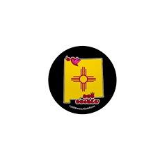 ILY New Mexico Mini Button (100 pack)
