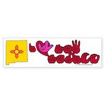 ILY New Mexico Sticker (Bumper 50 pk)