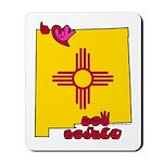 ILY New Mexico Mousepad