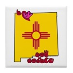 ILY New Mexico Tile Coaster