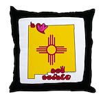 ILY New Mexico Throw Pillow