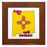 ILY New Mexico Framed Tile