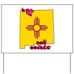 ILY New Mexico Yard Sign