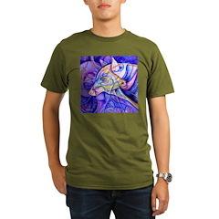 Eagle Wolf Organic Men's T-Shirt (dark)