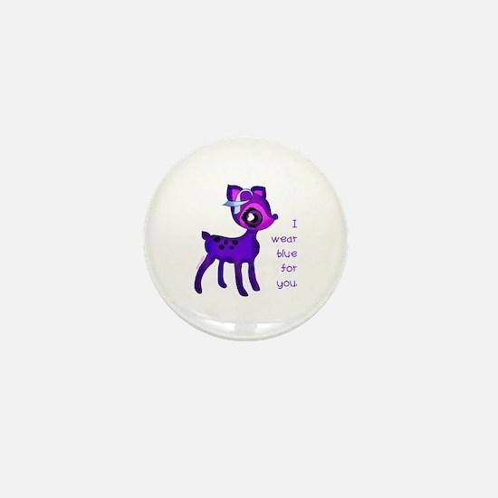Funny Pet health awareness Mini Button