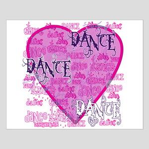 Dance Purple Brocade Small Poster