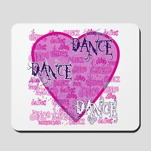 Dance Purple Brocade Mousepad