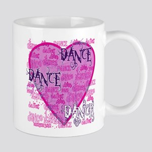 Dance Purple Brocade Mug