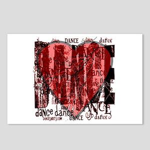 Dance Dance Dance by Danceshirts.com Postcards (Pa