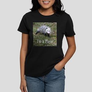 Playing Possum Women's Dark T-Shirt