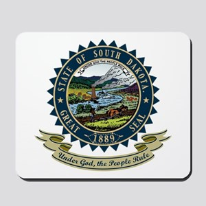 South Dakota Seal Mousepad