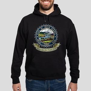 South Dakota Seal Hoodie (dark)