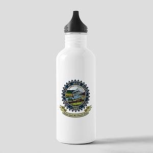 South Dakota Seal Stainless Water Bottle 1.0L