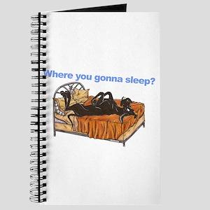 Blk Where you gonna sleep Journal