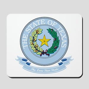 Texas Seal Mousepad