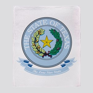 Texas Seal Throw Blanket