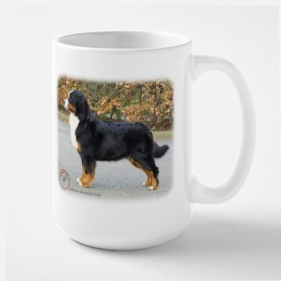 Bernese Mountain Dog 9T066D-221 Large Mug