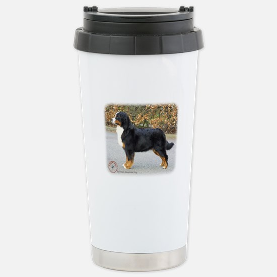 Bernese Mountain Dog 9T066D-221 Stainless Steel Tr