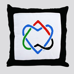 Peace Shalom Salaam Throw Pillow