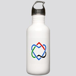 Peace Shalom Salaam Stainless Water Bottle 1.0L