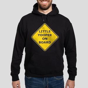 Little Yooper On Board Hoodie (dark)