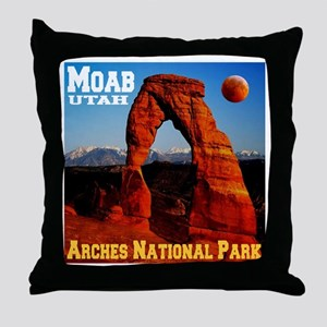 Moab, UT Throw Pillow