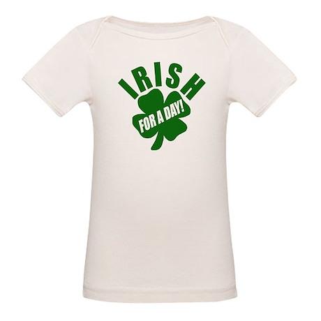 IRISH For A Day Organic Baby T-Shirt