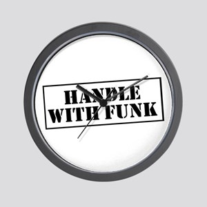 Handle with Funk Wall Clock