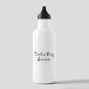 Cerebral Palsy Survivor Stainless Water Bottle 1.0