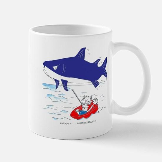 Fishing Cat Mug