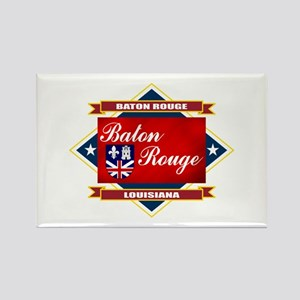 Baton Rouge Flag Rectangle Magnet