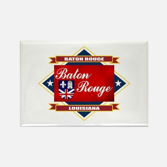 Baton Rouge Flag Rectangle Magnet