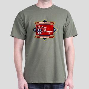 Baton Rouge Flag Dark T-Shirt