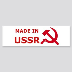 made_in_ussr Bumper Sticker