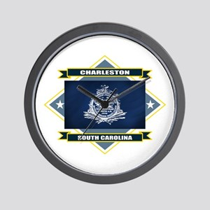 Charleston Flag Wall Clock