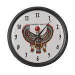 Shemsu Heru Large Wall Clock