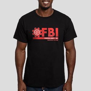 FBI BAU 2 Men's Fitted T-Shirt (dark)