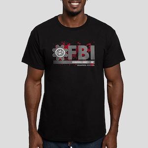 FBI BAU 4 Men's Fitted T-Shirt (dark)