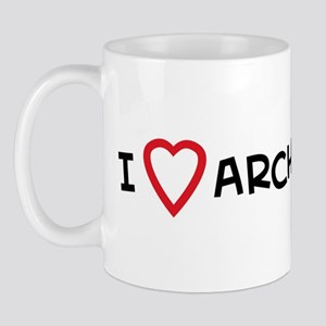 I Love Archery Mug