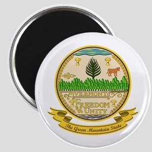 Vermont Seal Magnet