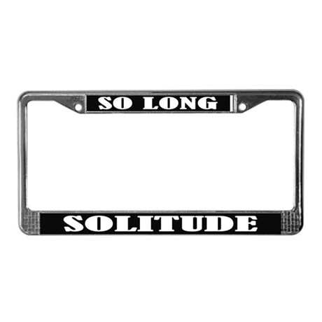 Custom License Plate Frame By Funlicenseframe