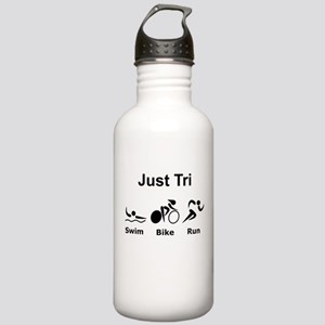 Just Tri Stainless Water Bottle 1.0L