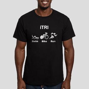 iTRI Men's Fitted T-Shirt (dark)