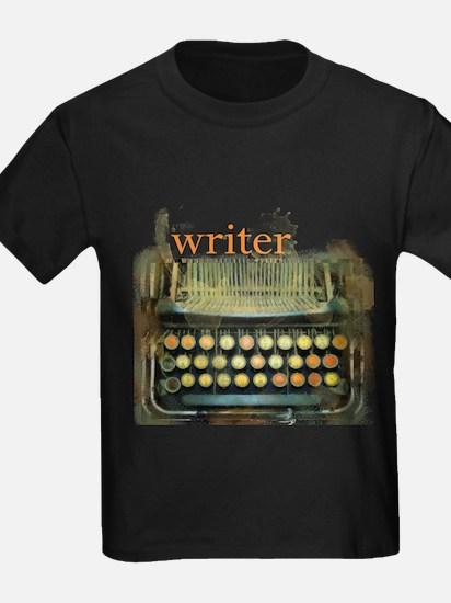 typewriter writer T