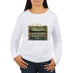 typewriter writer Women's Long Sleeve T-Shirt