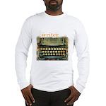 typewriter writer Long Sleeve T-Shirt