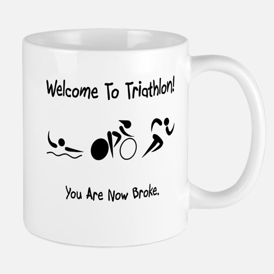 Welcome To Triathlon! Mug